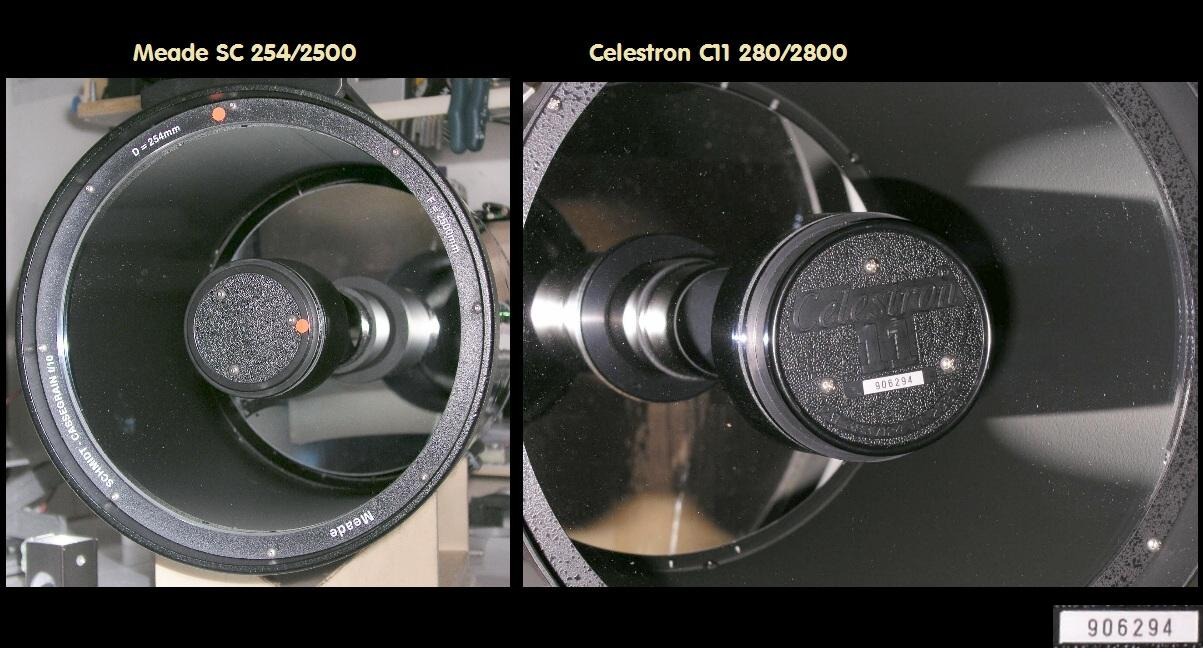 Celestron edgehd c xlt optik tubus mit losmandy prismenschiene