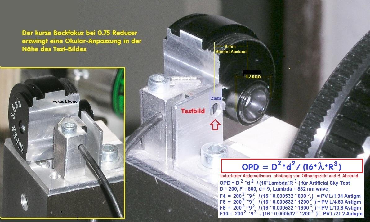 refraktor teleskop test